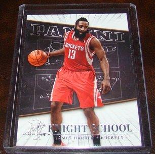 James Harden 2013-14 Panini Knight School Insert Basketball Card