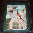 Ken Griffey Jr. 2007 UD Masterpieces Framed Green Parallel Baseball Card
