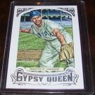 Phil Rizzuto 2014 Gypsy Queen Framed Silver Parallel Baseball Card