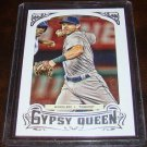 Ian Kinsler 2014 Gypsy Queen Framed Silver Parallel Baseball Card