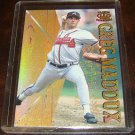 Greg Maddux 1996 Pacific Crown Hometown Collection Insert Baseball Card