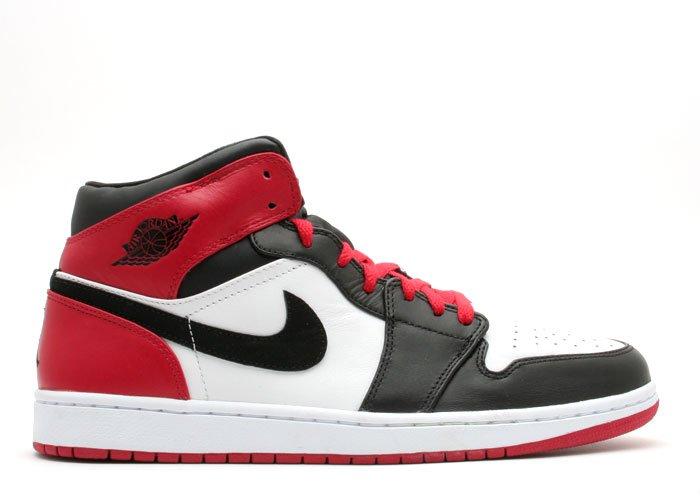 """Air Jordan 1  - """"beginning moments pack"""" white/black-varsity red"""