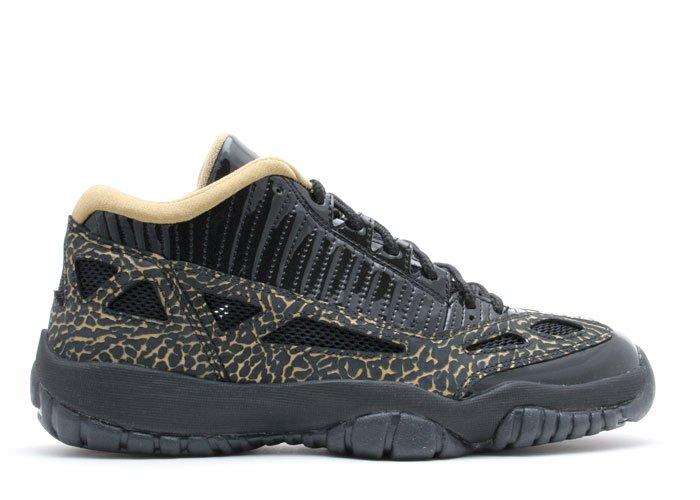 Air Jordan 11  -  black/metallic gold