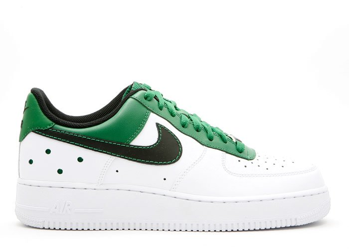 "Air Force One Low - ""barkley pack"" white/black-pine green"