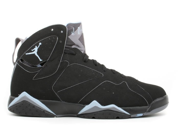 Air Jordan 7 - black/chambray-lt graphite