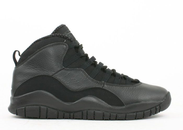 Air Jordan 10 -  black/white