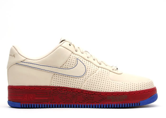 Air Force One Low - pearl white/pearl white-varsity red-varsity