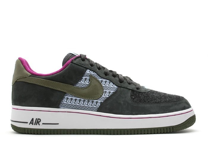 """WOMENS Air Force One Low - """"nordic pack"""" aluminum/army olive-dk charcoal"""