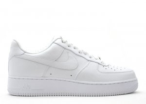 Air Force One Low - white/white