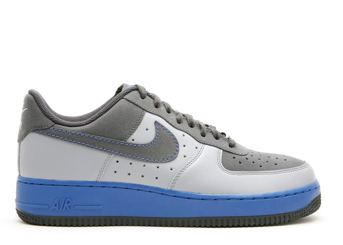 Air Force One Low - anthracite/anthracite-stealth-varsity royal