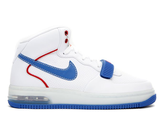 "Air Force One Mid - ""barkley pack"" white/varisty royal-varsity red"