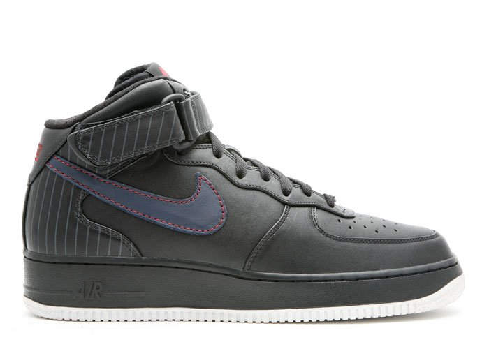 """Air Force One Mid - """"barkley pack"""" black/obsidian-team red"""