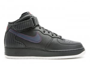"Air Force One Mid - ""barkley pack"" black/obsidian-team red"