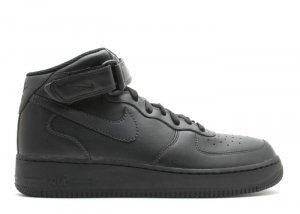 Air Force One Mid - black/black-black