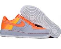 Air Force One Low - stealth / orange blaze / neutral grey