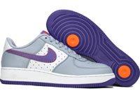 Air Force One Low - stealth / varsity purple / orange blaze