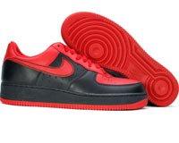 Air Force One Low- varsity red / varsit red / black