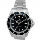 Pre-owned Rolex Men's Stainless Steel 40 mm Submariner No-Date Watch