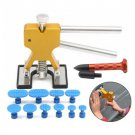 12pcs PDR Car Body Dent Puller Paintless Hail Removal Repair Tool with 10 Tabs