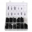 350 pcs Plastic Car Repair Clip Rivets Screws Push Fastener Assortment Kit