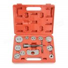 12pcs Disc Brake Caliper Wheel Cylinder Pad Piston Rewind Car Repair Tool