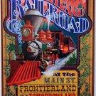 "DISNEYLAND RESORT DISNEYLAND RAILROAD"" CLASSIC ATTRACTION POSTER PRINT"