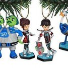 Disney Junior's Miles From Tomorrow Galactech Holiday Ornament Set of 6