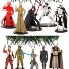 Disney's Star Wars The Last Jedi 10 Piece Ornament Set