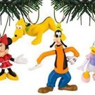 Disney's Mickey & Friends Holiday Ornament Set of 6