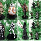 Star Wars FORCE AWAKENS 6 Piece Christmas Tree Ornament Set Featuring Kylo Ren,