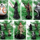 Star Wars FORCE AWAKENS 5 Piece Christmas Tree Ornament Set Featuring Kylo Ren,