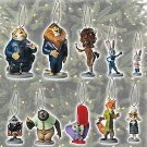 Disney Zootopia Exclusive Deluxe 10 Pc Ornaments Set