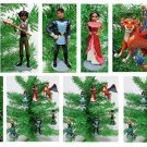 Elena of Avalor Holiday Christmas Ornament Set - Unique Shatterproof Plastic Des
