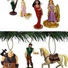 Disney Tangled 7pc Ornament Set