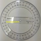 Isomars Full circle protractor diameter 15 cm 360 degree protractor