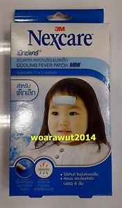 3M Nexcare cooling fever patch mini 11 x 5 cm for children 6 pcs