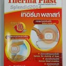 ThermaPlast Heat Patch japan Relieve pain Provide warmth Hot for 10 hrs 1 box