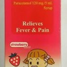 Tempra Kids Paracetamol 120 mg/5 ml Syrup Aspirin /  Alcohol Free Relieve fever