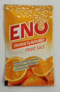 Eno fruit salt orange lemon flavoured Fast relieve from indigestion heartburn