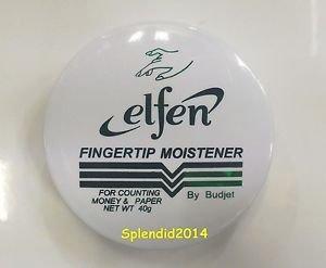 Elfen fingertip moistener for counting money  Odorless Acid free 40 g