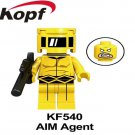 AIM AGENT Hydra Block MARVEL LEGEND CAPTAIN AMERICA  INFINITE AVENGERS Brick Toy