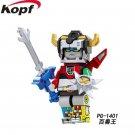 Voltron Legendary Defender Japan anime hero Blocks Minifigure Collectible Toy