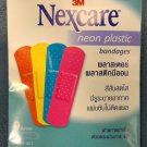 Nexcare Neon color Hypoallergenic Plastic Adhesive Bandage Plaster 5 pack 45 pcs
