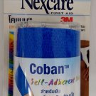 3M Nexcare coban self adhesive wrap bandage 3 inch x 5 yards for sprains strain