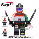 Voltron The God of war Godmar Japan anime hero Blocks Minifigure Collectible Toy