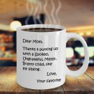 Funny Gifts For Mom on Mother's Day: White, 11oz Coffee Mug for Mom