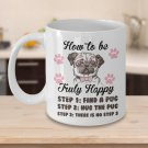 TeesCloset Funny Gift for Pug Lovers - Funny Pug Mugs - Cute Coffee Mugs for Pug Owners