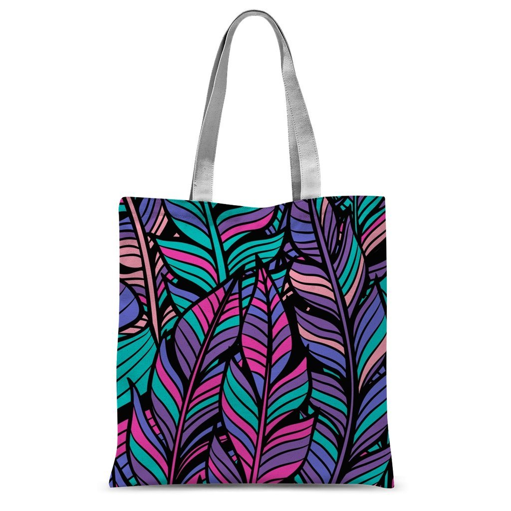 Summer Outfits Tropical Forest Colorful Boho Style Tote Bag