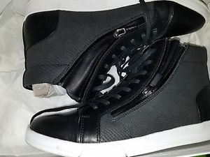 Calvin Klein Men's Berke Embossed Leather Fashion Sneaker  Sz 7.5