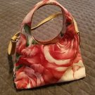 FOSSIL FLORAL CANVAS HANDBAG